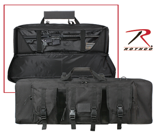 BLACK TACTICAL RIFLE CASE - 36 INCHES