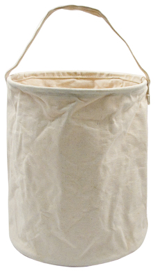 CANVAS LARGE WATER BUCKET - NATURAL