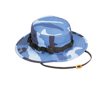 ULTRA FORCE SKY BLUE CAMO BOONIE HAT