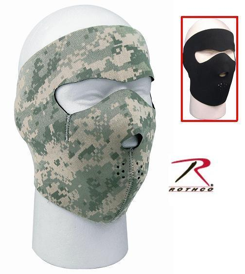 REVERSIBLE NEOPRENE FACEMASK ACU / BLACK