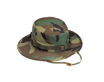 ULTRA FORCE WOODLAND CAMOUFLAGE BOONIE HAT