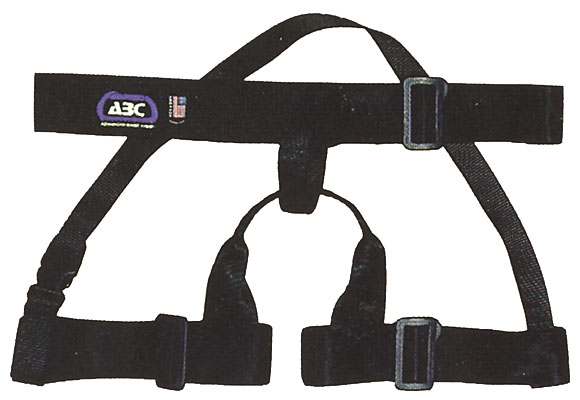 ADJUSTABLE RAPPELING GUIDE HARNESS
