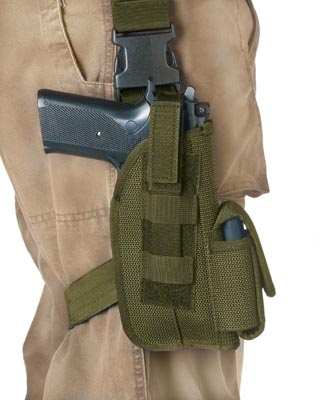 ULTRA FORCE TACTICAL HOLSTER - OLIVE DRAB
