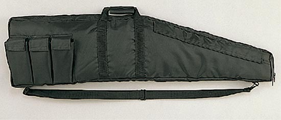 BLACK NYLON ASSAULT RIFLE CASE - 43 INCHES