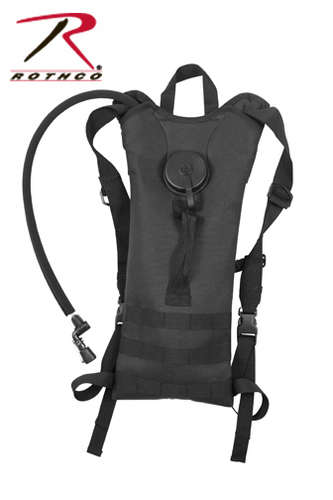 BLACK BACKSTRAP HYDRATION SYSTEM
