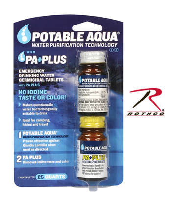 POTABLE AQUA P.A. PLUS 2 STEP WATER TREATMENT