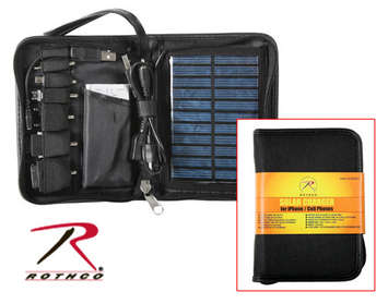 DELUXE SOLAR CHARGER FOR I-PHONES CELL PHONES