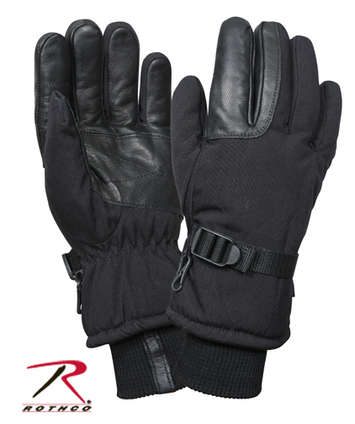 COLD WEATHER MILITARY GLOVES - BLACK