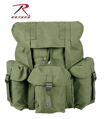 ROTHCO CANVAS G.I. STYLE SOFT PACK - OLIVE DRAB