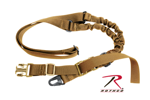 SINGLE POINT SLING - COYOTE BROWN MILITARY