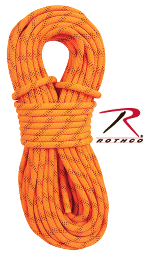 ORANGE RESCUE RAPPELLING ROPE 150 FEET
